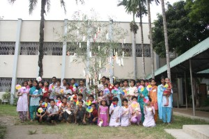 "Angel Home Children enjoyed the Japanese Culture on 7th July ""TANABATA Festival"""